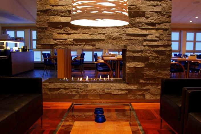 Dining and lounge area. Photo by Hotel Angmagssalik - Visit Greenland