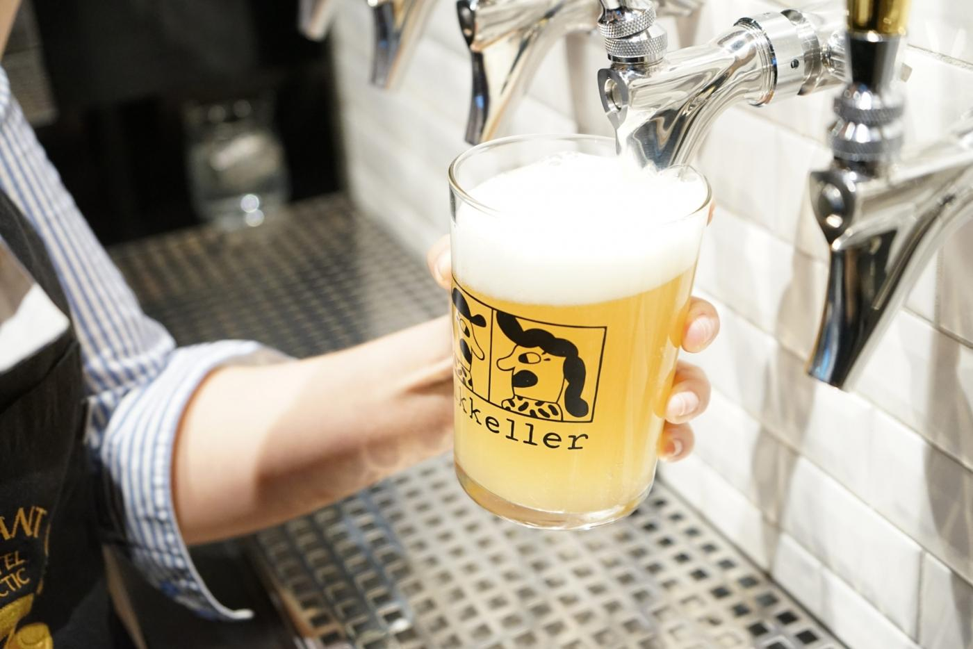 Mikkeller beer on tap at the Brasserie Ulo. Photo by Brasserie Ulo – Hotel Arctic
