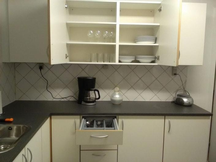 Hope Hostel kitchen utilities. Photo by Hope Hostel - Visit Greenland