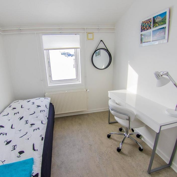 Hope Hostel single room. Photo by Hope Hostel - Visit Greenland