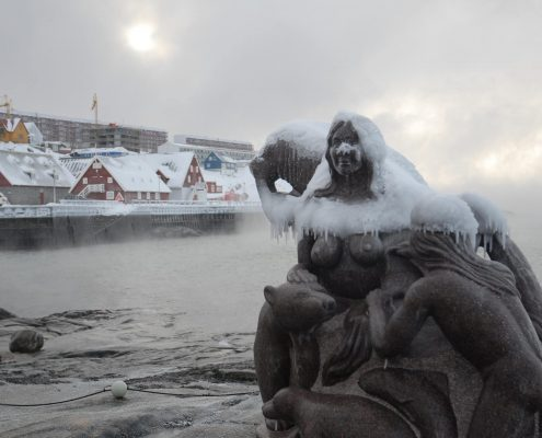 Mother of the Sea frozen. By David Trood