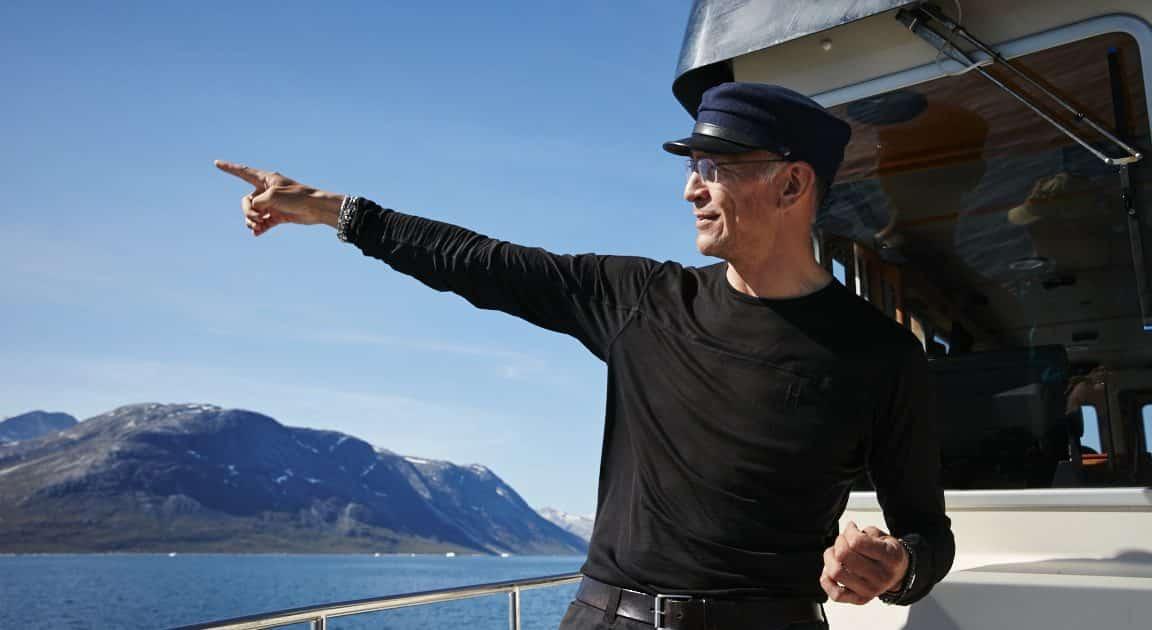 Arctic Boat Charter Captain, Erik Palo Jacobsen. Photo by Jonathan Pozniak.