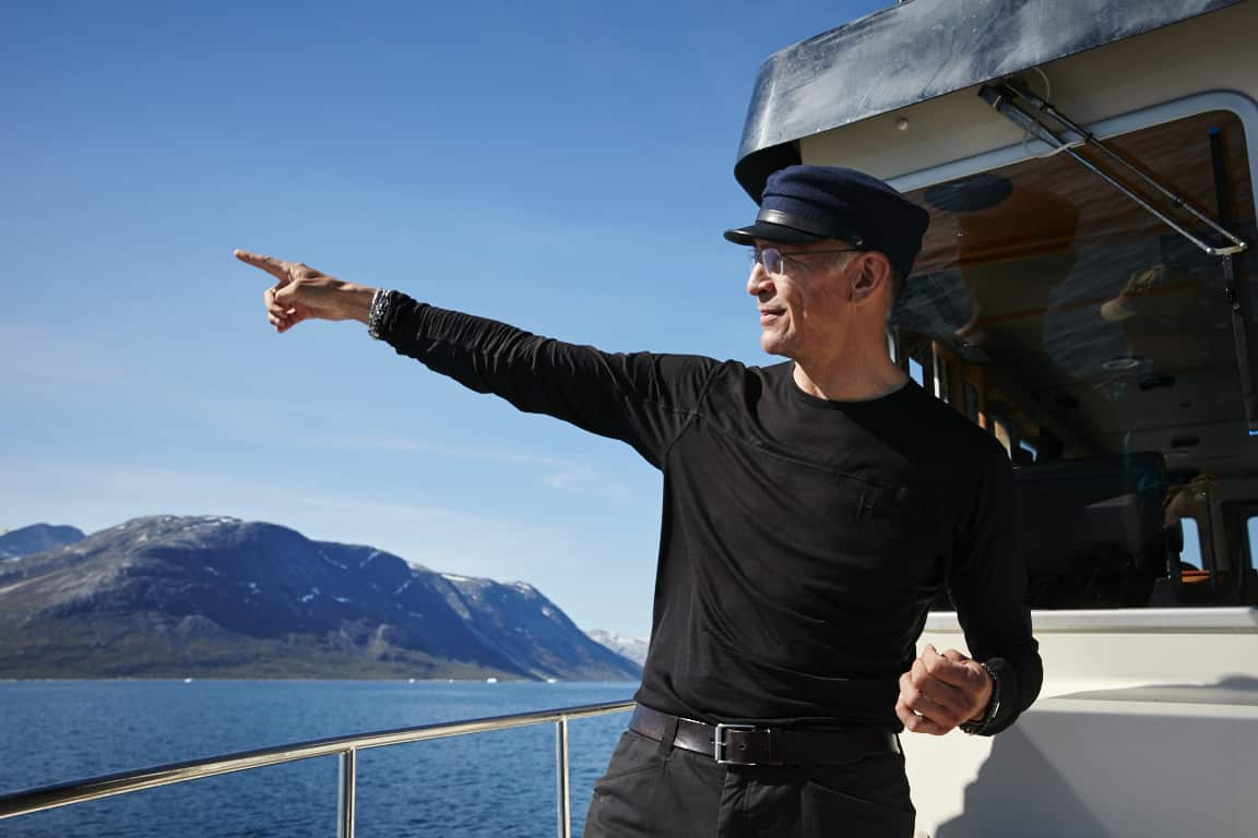 Arctic Boat Charter Captain, Erik Palo Jacobsen. Photo by Jonathan Pozniak.