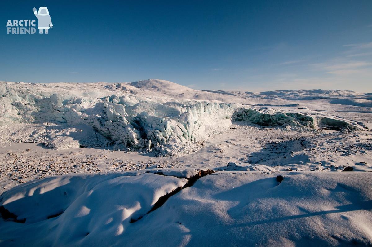 Arctic Friend – Arktiske Paradis – nordlys, hundeslæde og isbjerge