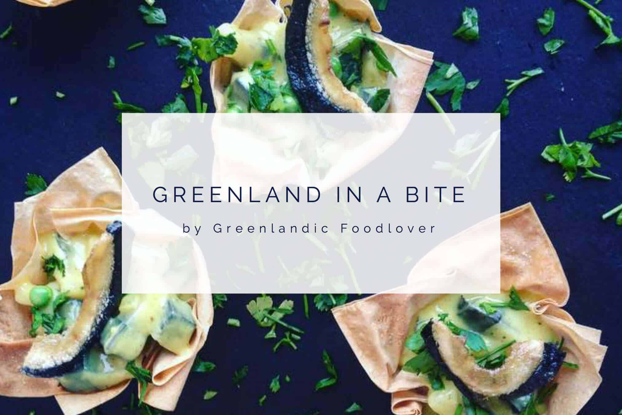 """Greenland in a bite"" by Greenlandic Foodlover"