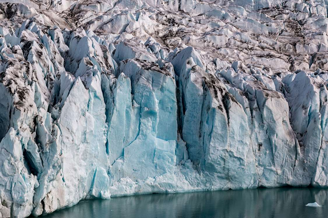 Knud Rasmussen glacier in East Greenland. Photo by Pirhuk - Greenland Expedition Specialists