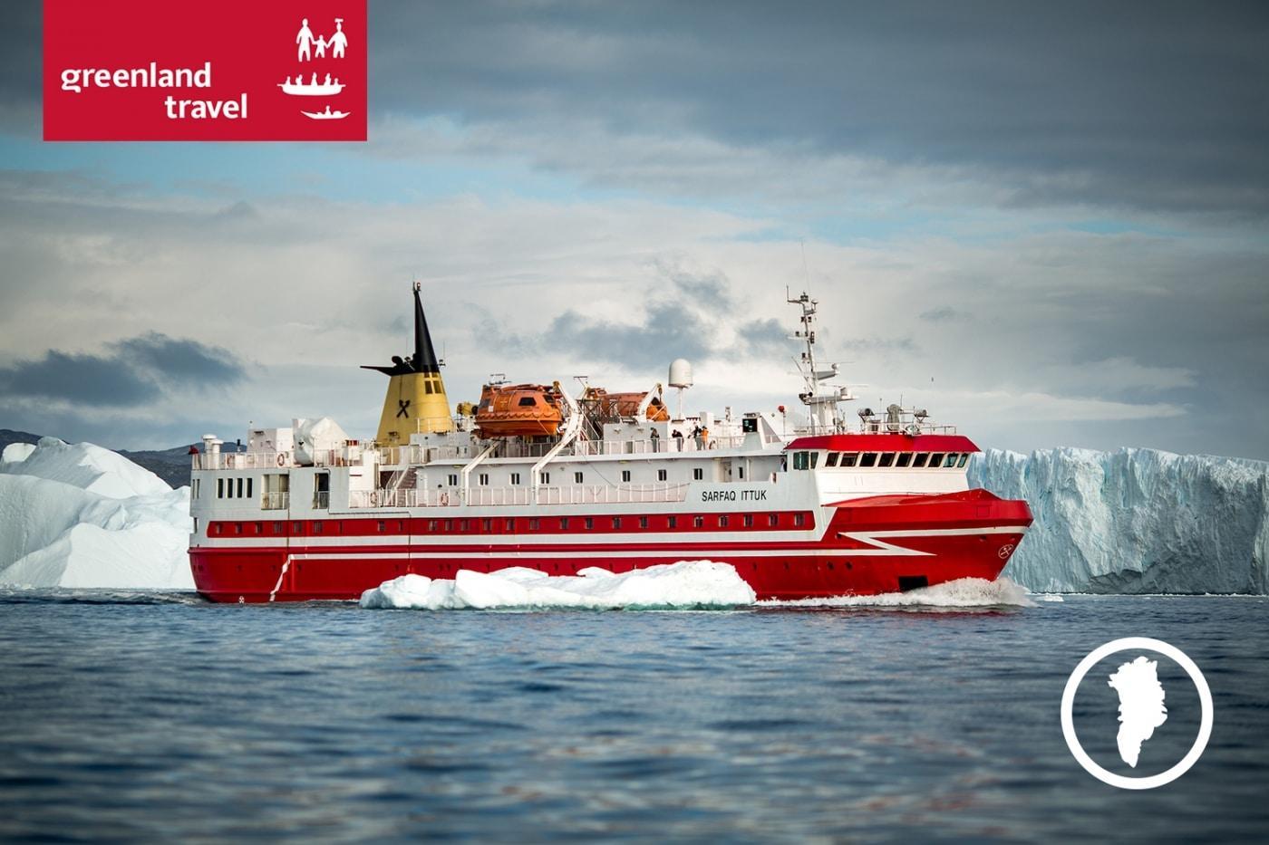 Grønlands Rejsebureau: Sommereventyr! Rundrejse med natur i særklasse