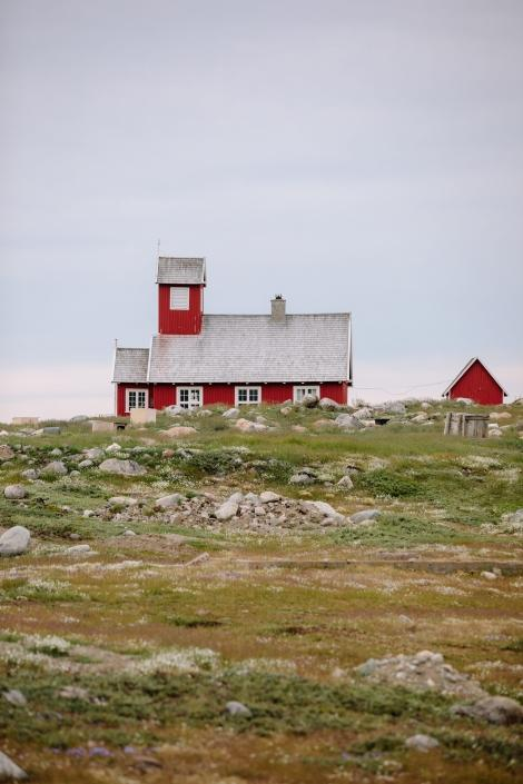 The beautiful Ilimanaq church and summer tundra 2. Photo by Jessie Brinkman Evans