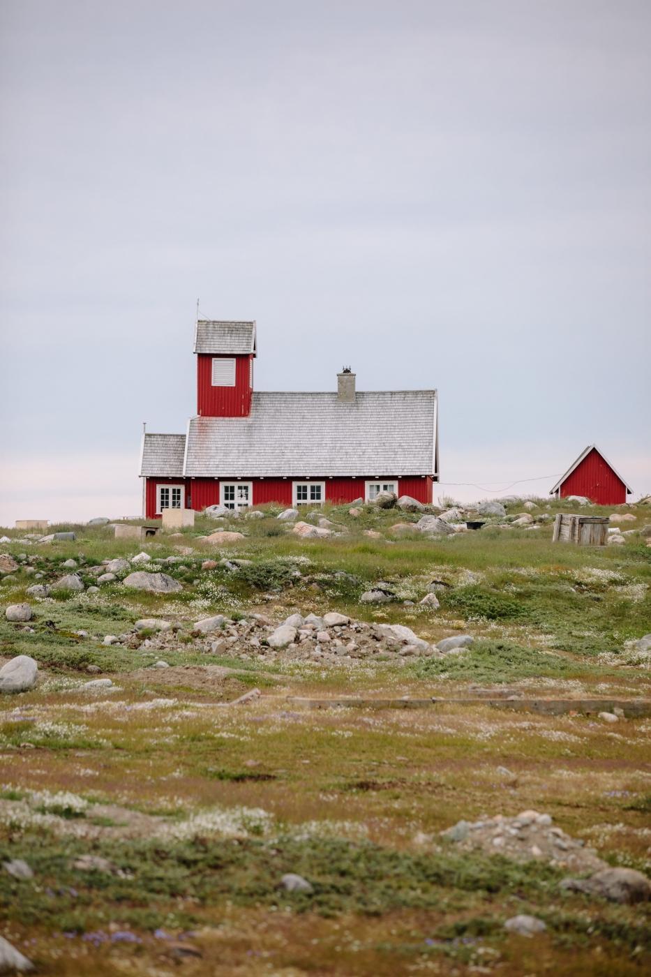 The beautiful Ilimanaq church and summer tundra 2. Photo by Jessie Brinkman Evans