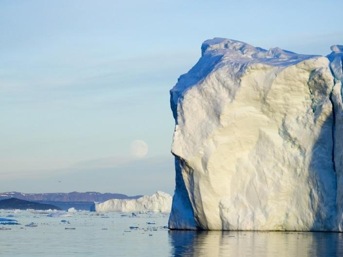 Iceberg in Ilulissat Icefjord an UNESCO World Heritage destination. Photo by Guide to Greenland