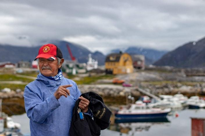 David, guide at Nanortalik Museum. Photo by Iris Timmermans - Visit Greenland