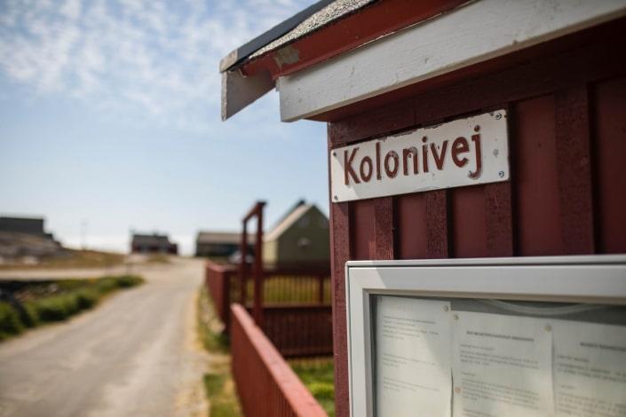 Kolonivej, Nanortalik town centre, South Greenland. Photo by Aningaaq R Carlsen - Visit Greenland