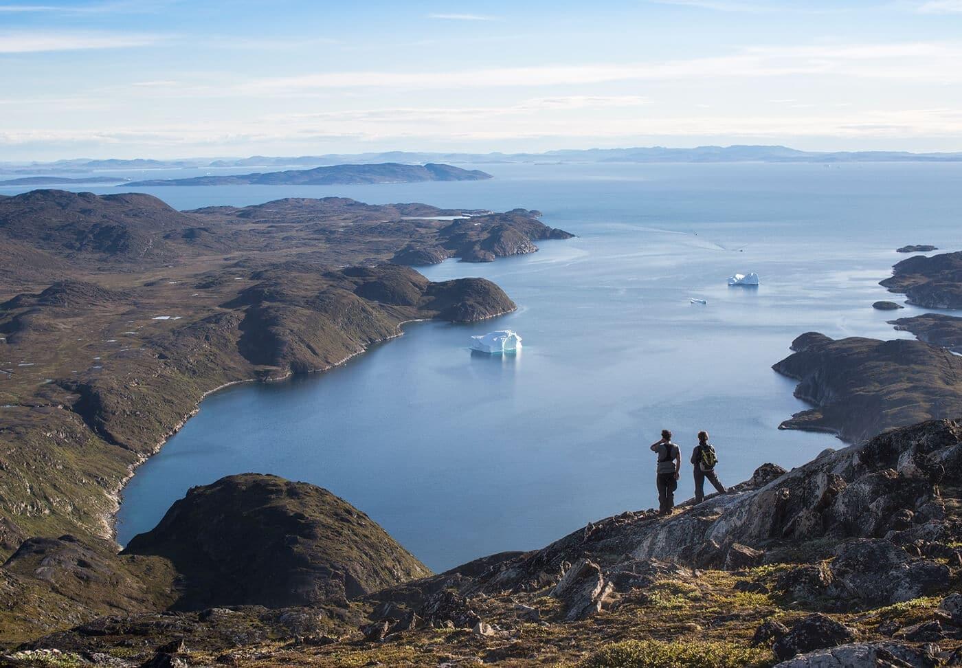 Grønland - Trekking Diskobugten rundt. Greenland By Topas