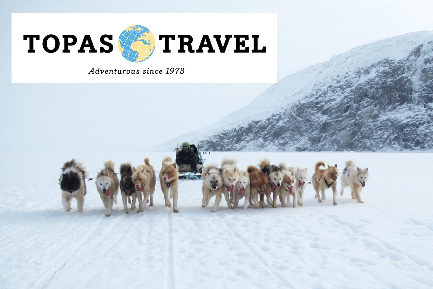 Topas Travel – Grønland – Hundeslæde, indlandsis og nordlys