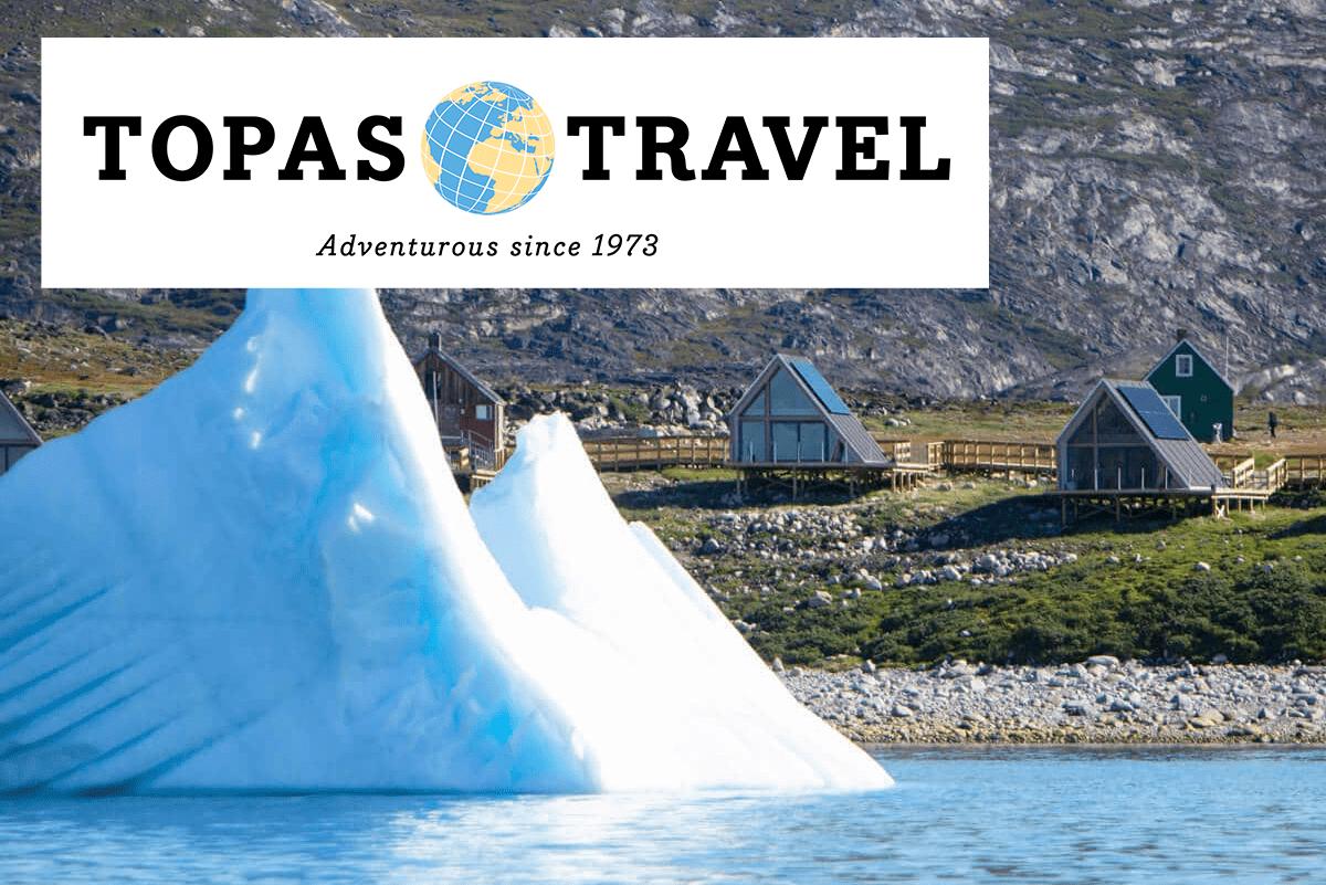 Topas Travel Grønland - Eventyrlig rundrejse i Diskobugten