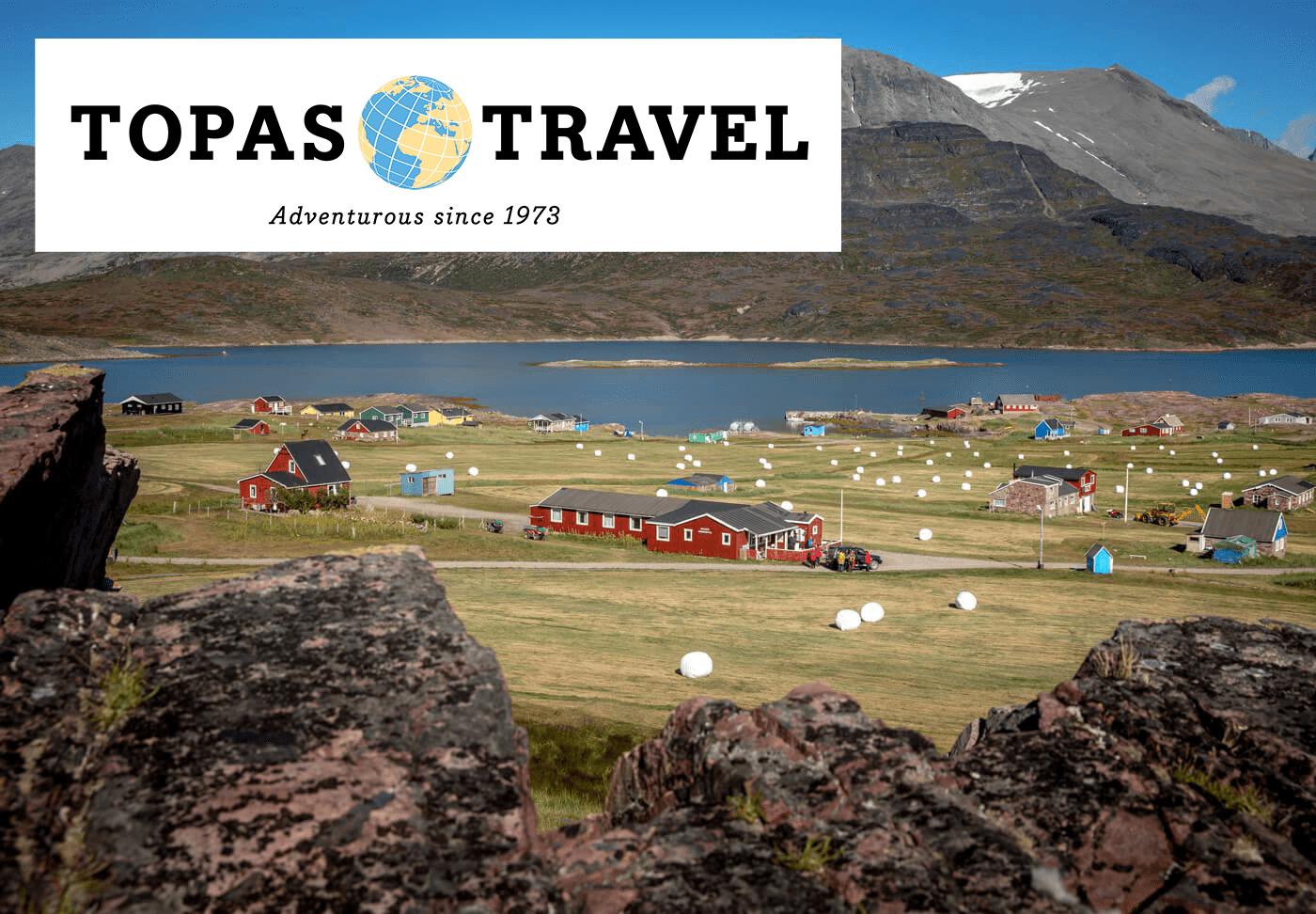 Topas Travel - Grønland – Rundrejse fra bygd til vildmark