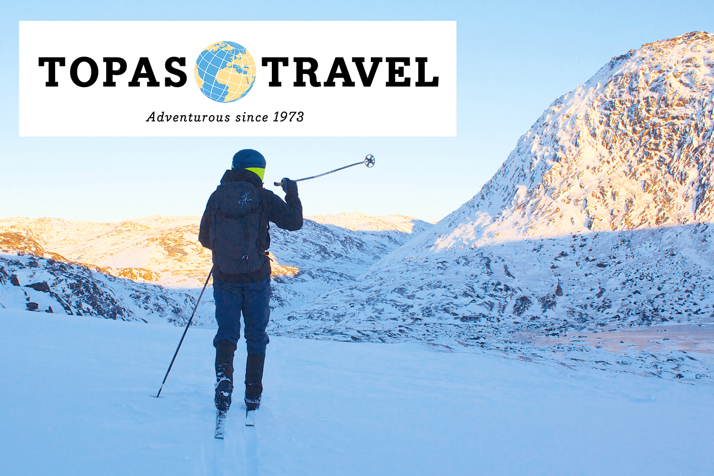 Topas Travel – Fjeldski, nordlys og Iglo Lodge i Diskobugten