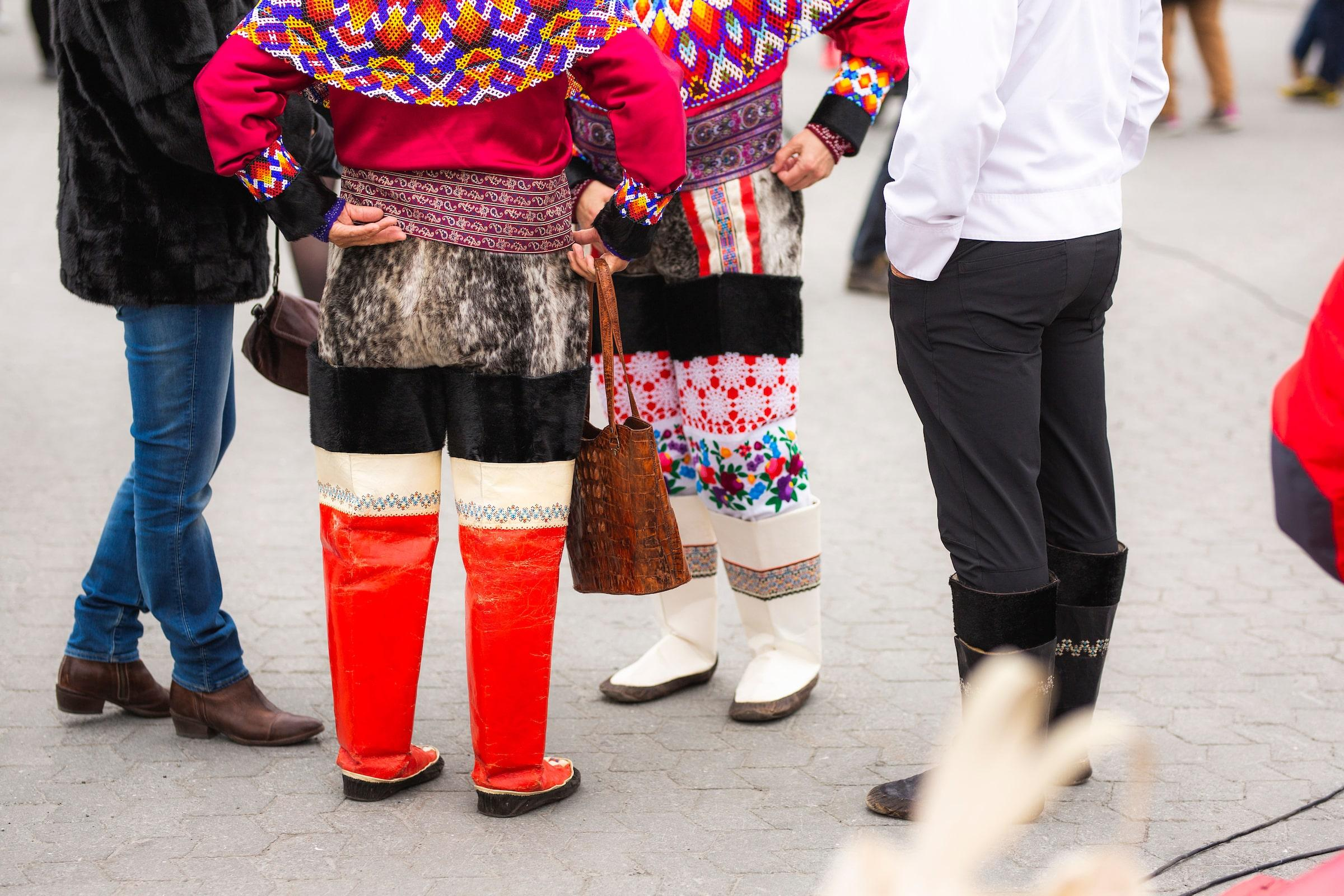 National Clothing. National Day Gathering By The Old Harbour. Photo by Aningaaq R Carlsen - Visit Greenland