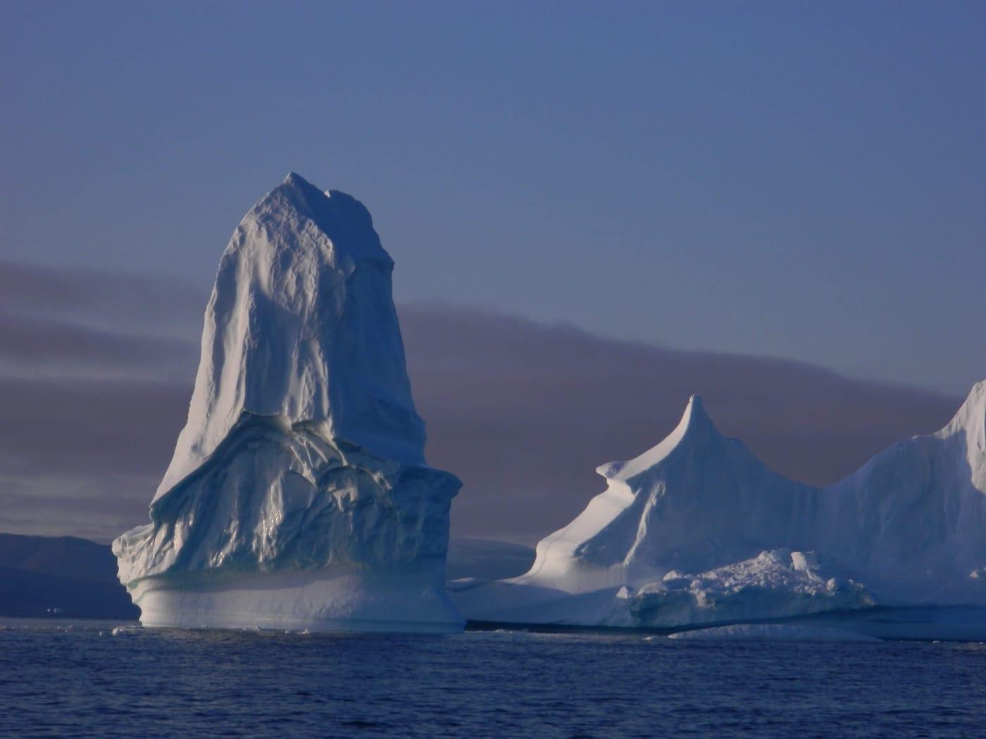 Large icebergs near Ilulissat.