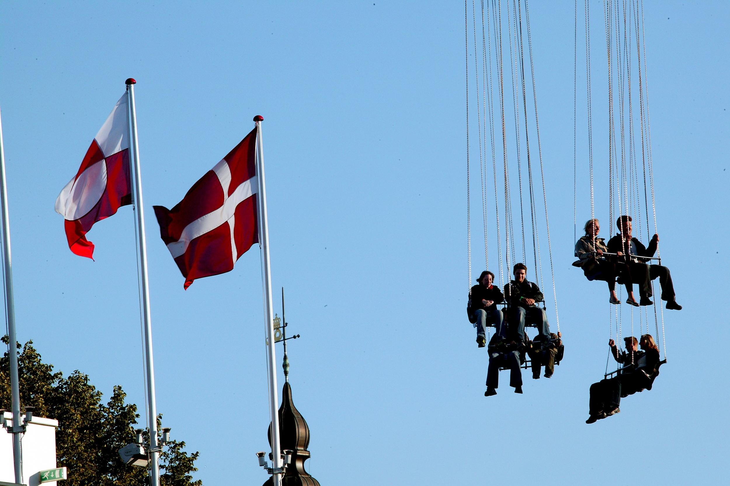 Greenland in The Tivoli Gardens, Copenhagen. Photo by Visit Greenland