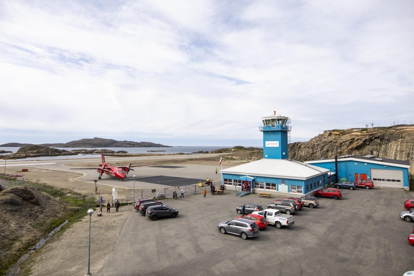 By the Airport in Sisimiut. Photo by Aningaaq R Carlsen - Visit Greenland