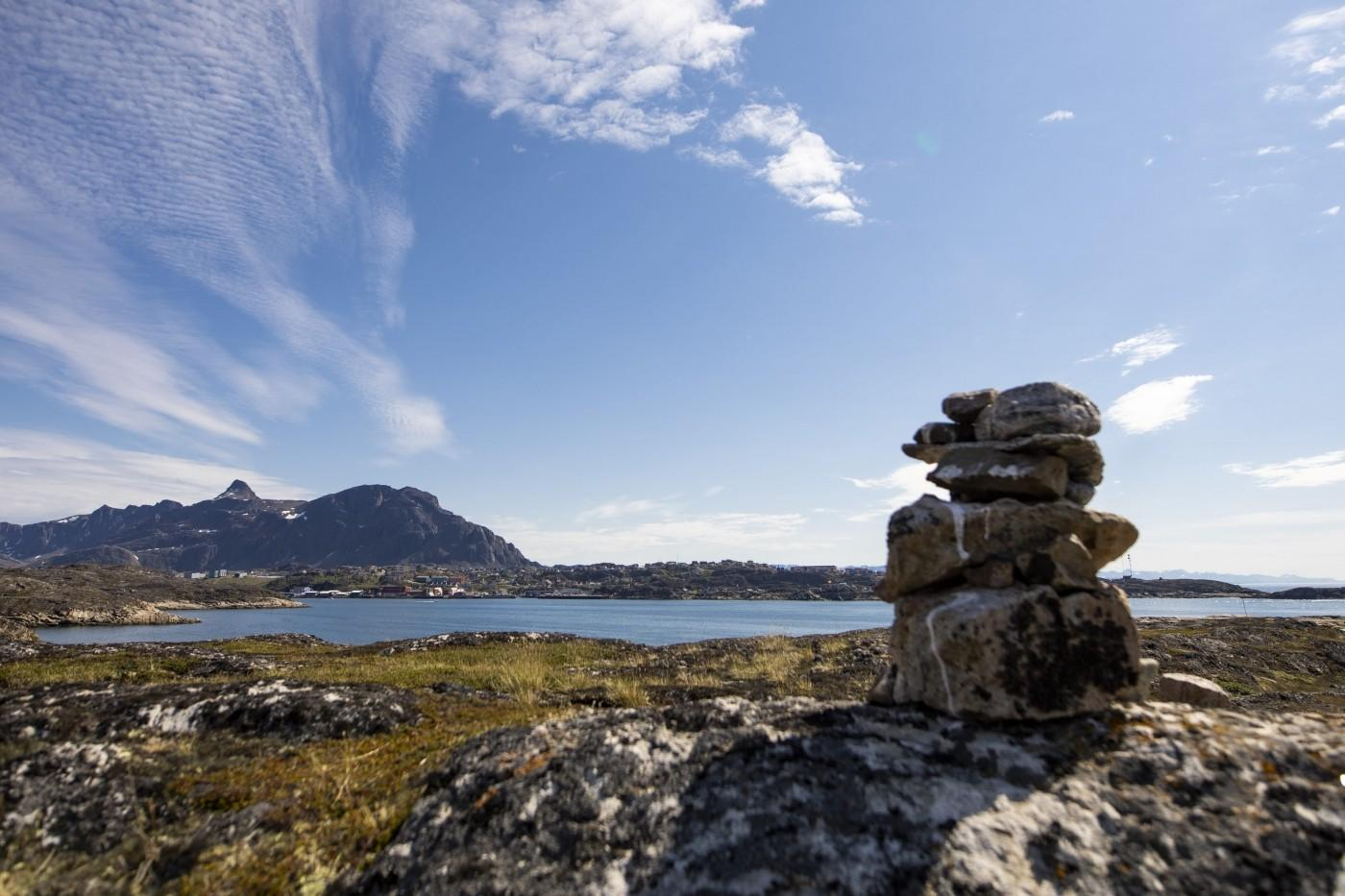 From the side of town in Sisimiut. Photo by Aningaaq R Carlsen - Visit Greenland