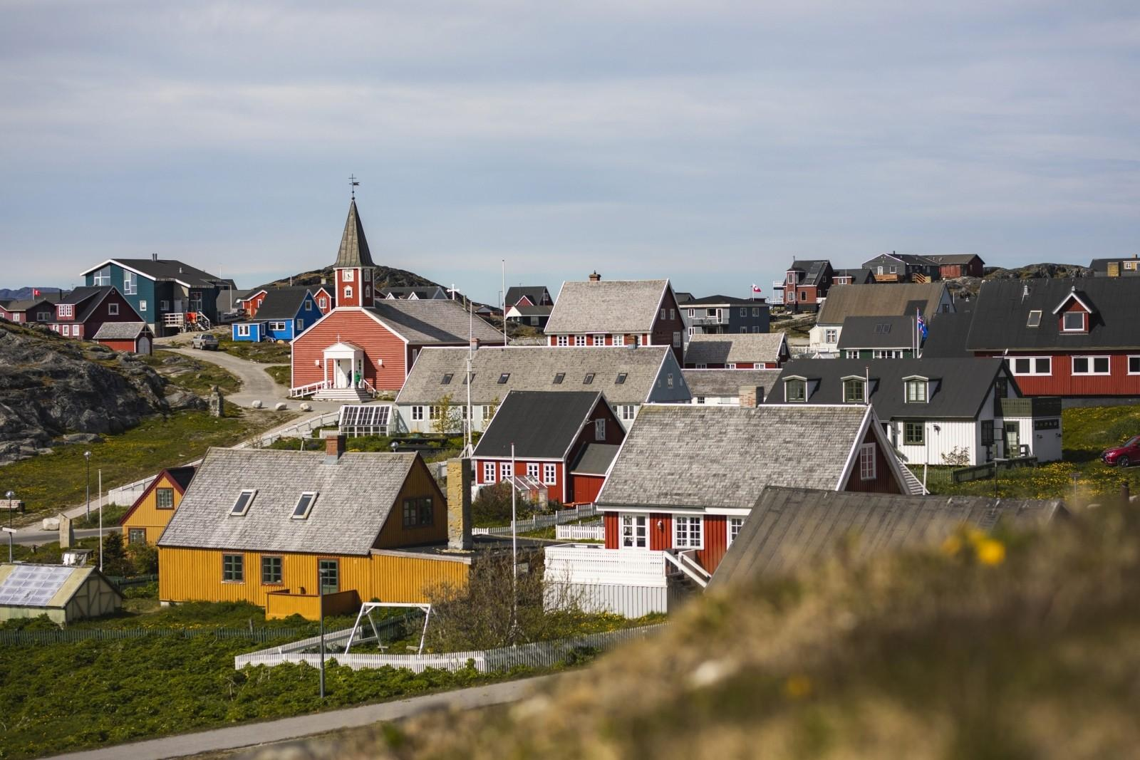 After-The Red Church and the Old Nuuk area