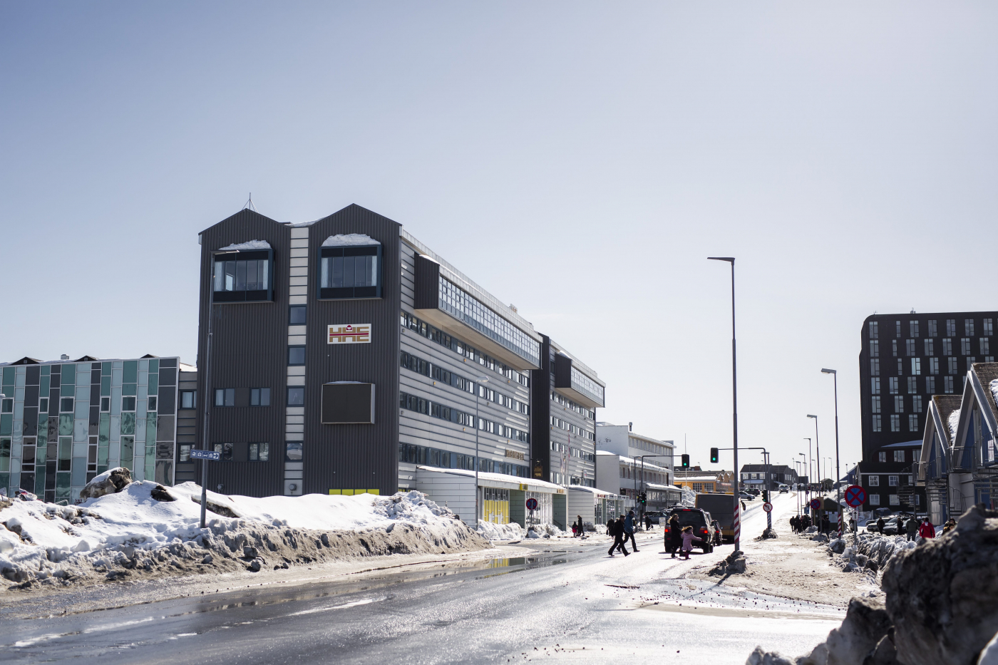 Hotel Hans Egede in 2021. Photo by Aningaaq R. Carlsen - Visit Greenland