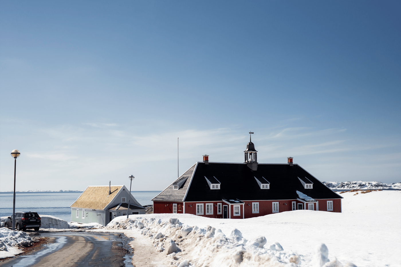 Old University of Greenland. Photo by Aningaaq R. Carlsen - Visit Greenland