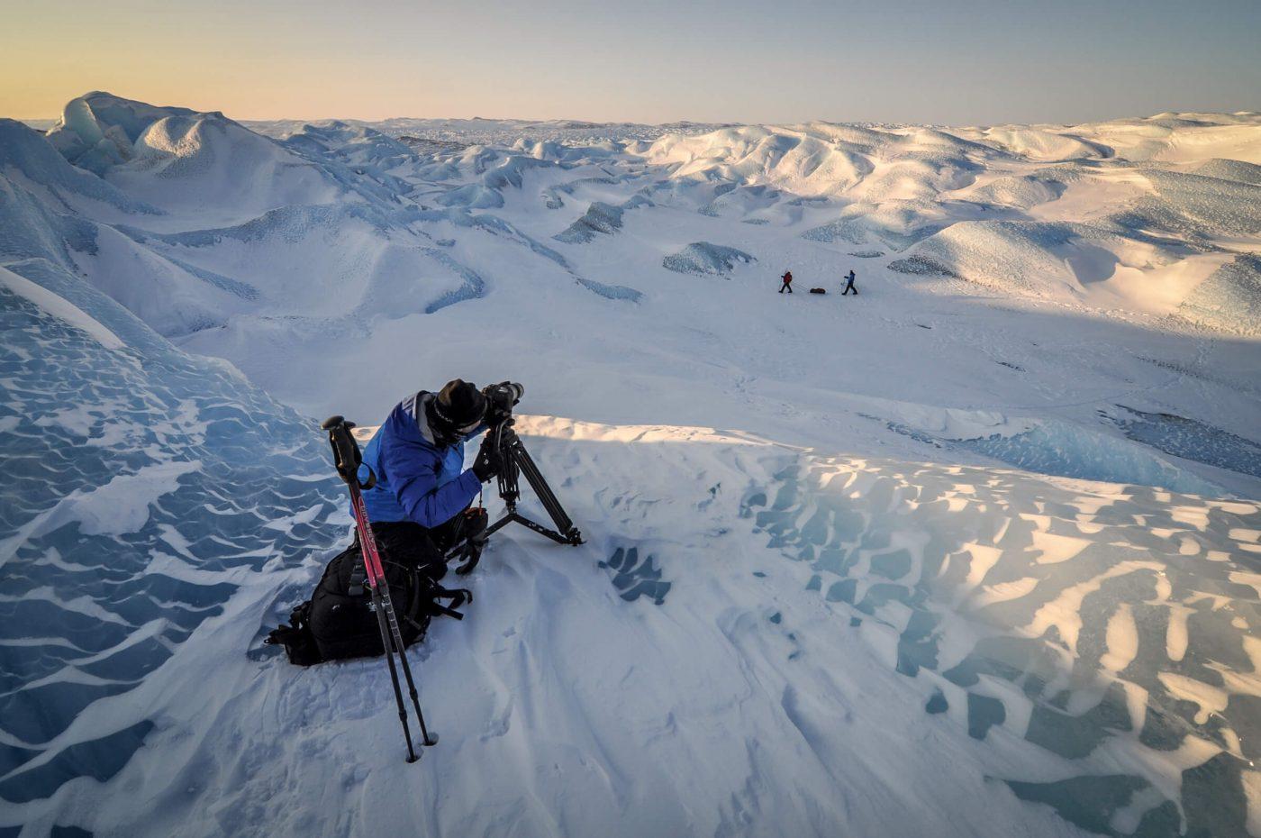 A photo tour on the Greenland Ice Sheet near Kangerlussuaq