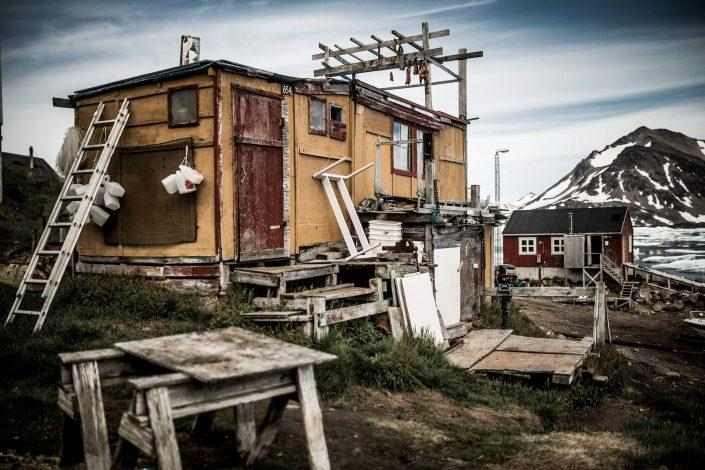 A tiny house Greenland style in Kulusuk, East Greenland. Photo by Mads Pihl