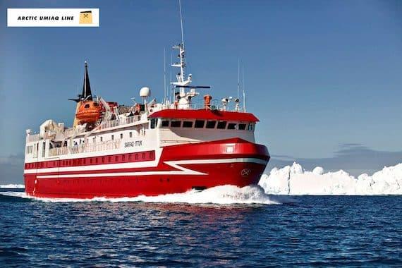 Arctic Umiaq Line: Se Grønland fra søsiden