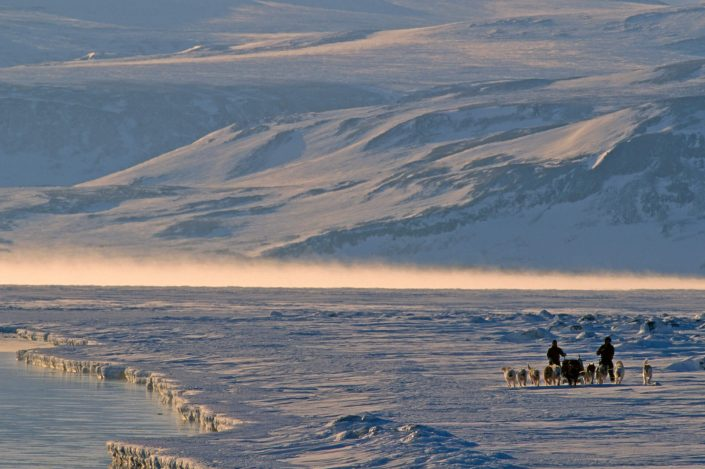 Dogsledding in North-East Greenland, by Magnus Elander