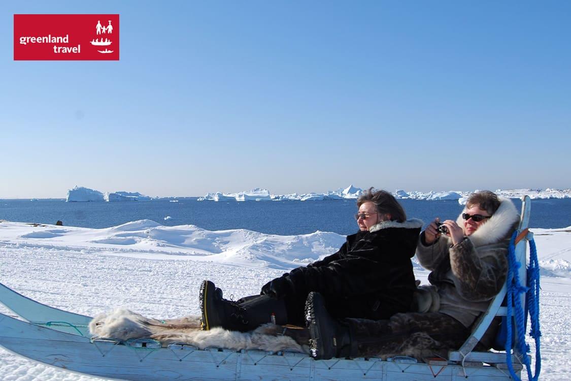 Grønlands Rejsebureau: Vinterdage ved kanten af Indlandsisen i Grønland