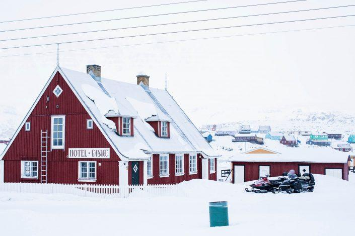 Hotel Disko. Photo by Jeremy Bernard - Visit Greenland