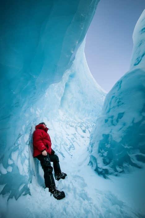 Inside the ice cap near Kangerlussuaq. By Humbert Entress