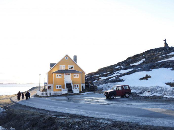 The old part of town in Nuuk. Photo By Jessie Brinks Evans