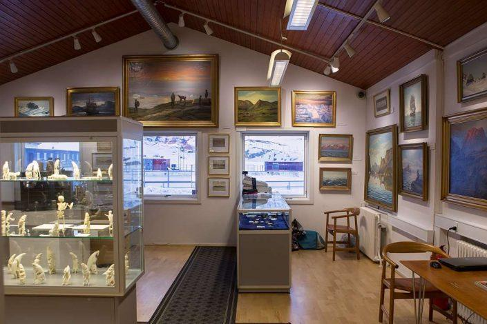 Inside view of Nuuk Art Museum. Photo by Nuuk Art Museum