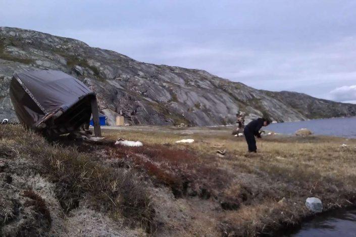 Bivouac in North Greenland. Photo by Qasigiannguit Tourist Bureau