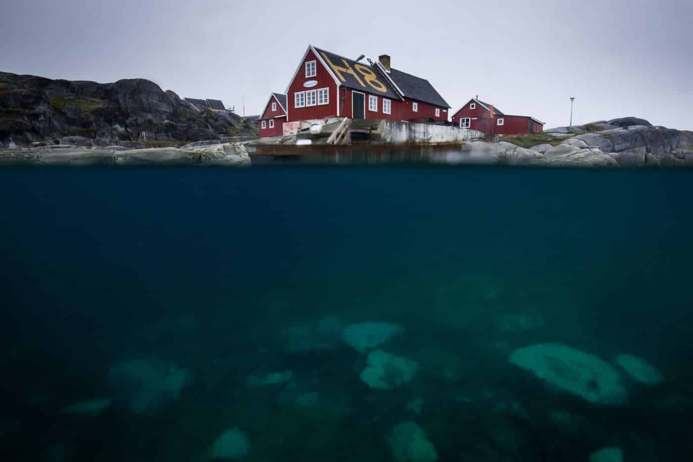 Restaurant H8 in Oqaatsut in the Disko Bay, Greenland. By Mads Pihl