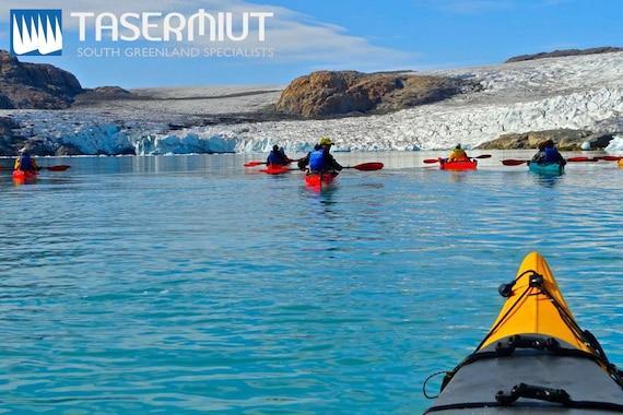 46 Tasermiut Expeditions: Kajak og vandretur på is i 15 dage i Sydgrønland