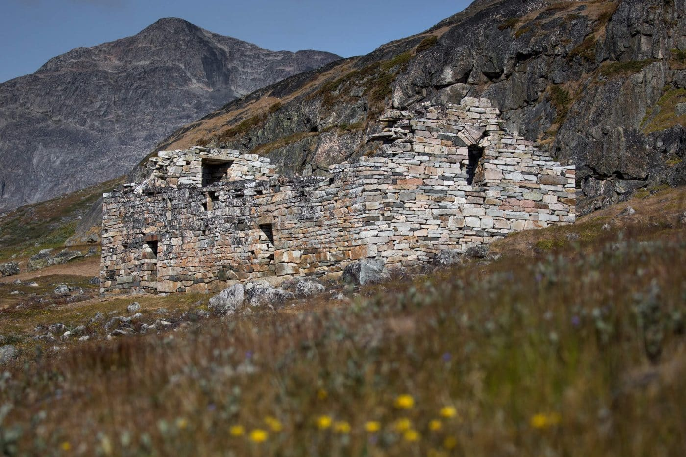 The Hvalsey church ruin near Qaqortoq in South Greenland. By Mads Pihl
