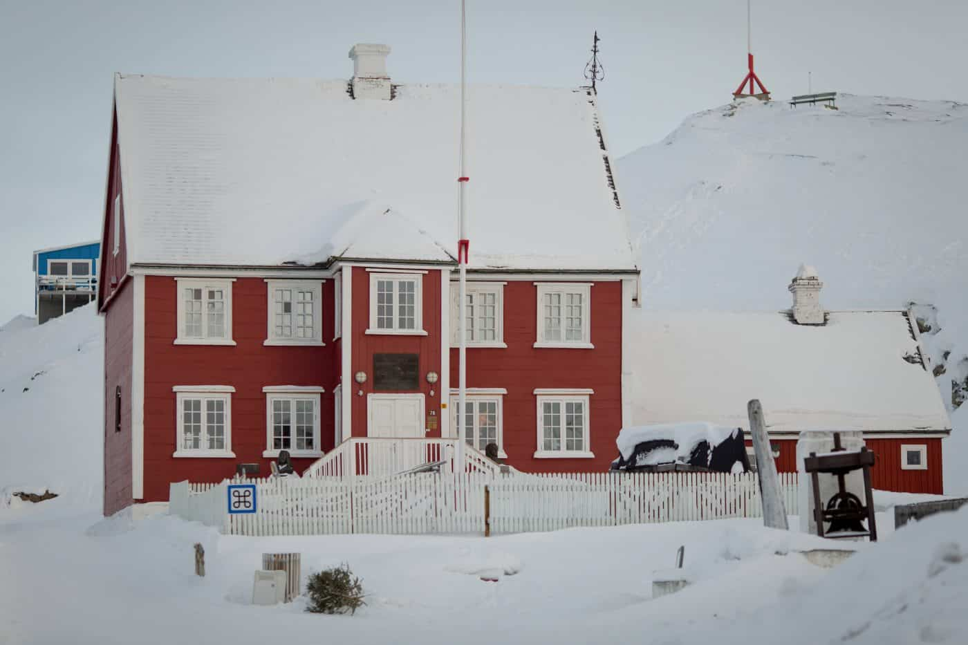 The museum in Ilulissat in Greenland. By Mads Pihl