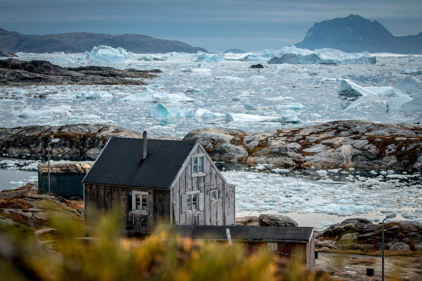 Tiniteqilaaq in East Greenland is located by the edge of the highly productive ice fjord Sermilik in East Greenland
