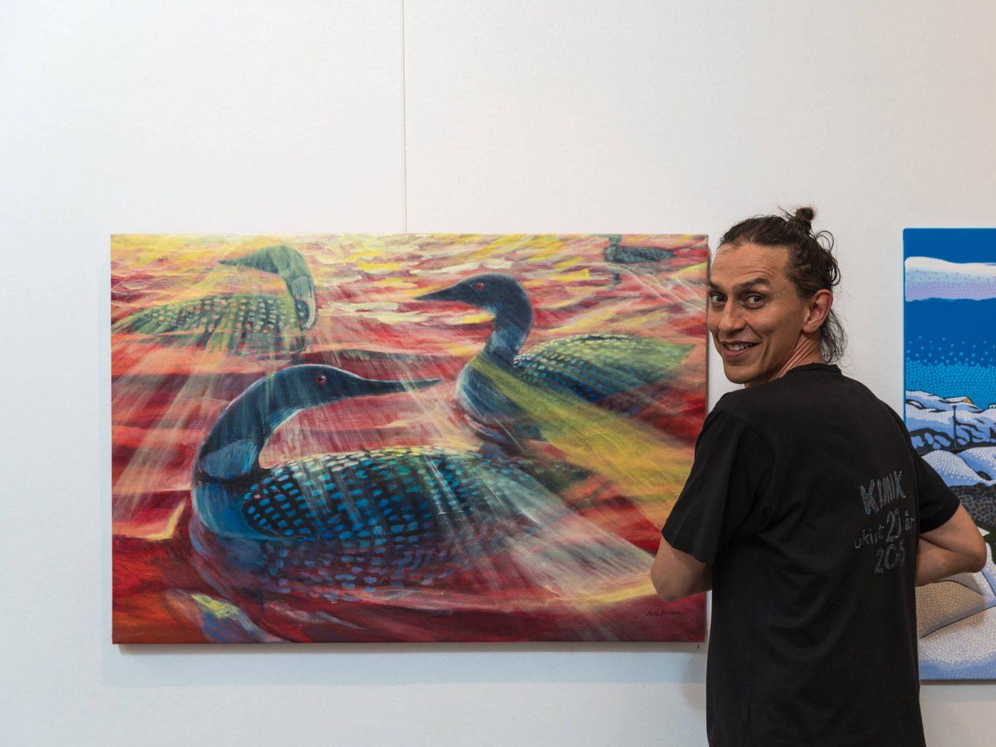Visual artist Miki Jacobsen, By Daniel Gurrola