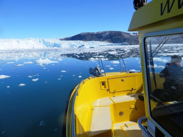 Greenland Water Taxi. Photo by Nuuk Water Taxi
