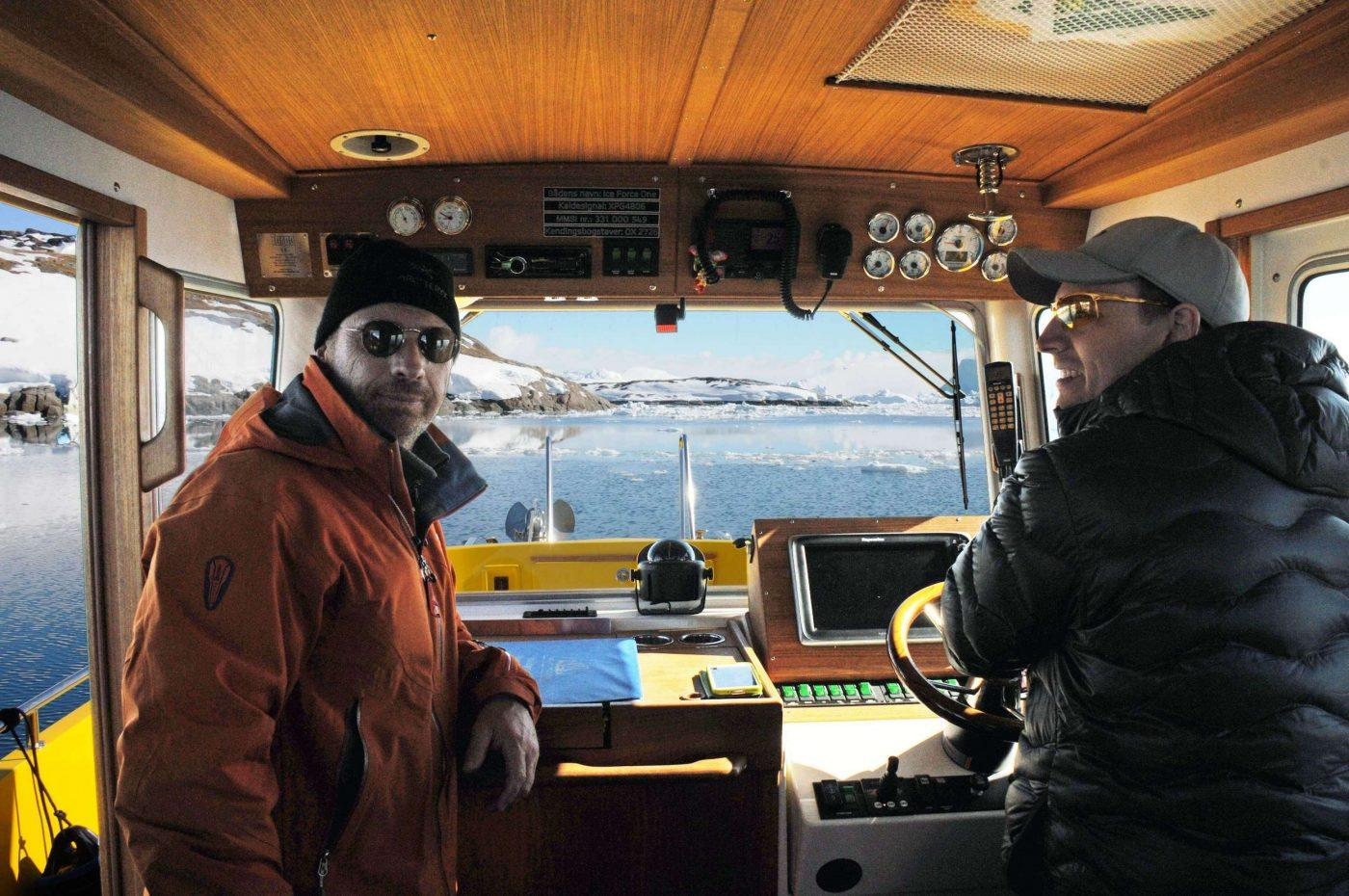 Inside Nuuk Water Taxi. Photo by Nuuk Water Taxi