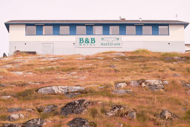 The Nattoralik B&B viewed from the side. Photo by Lisa Germany, Visit Greenland