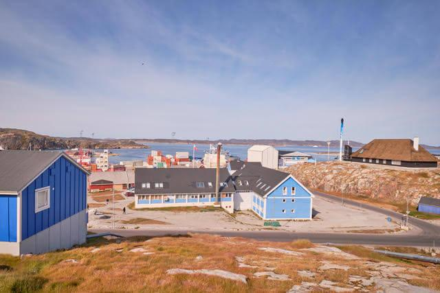 The Nattoralik B&B from outside. Photo by Lisa Germany, Visit Greenland