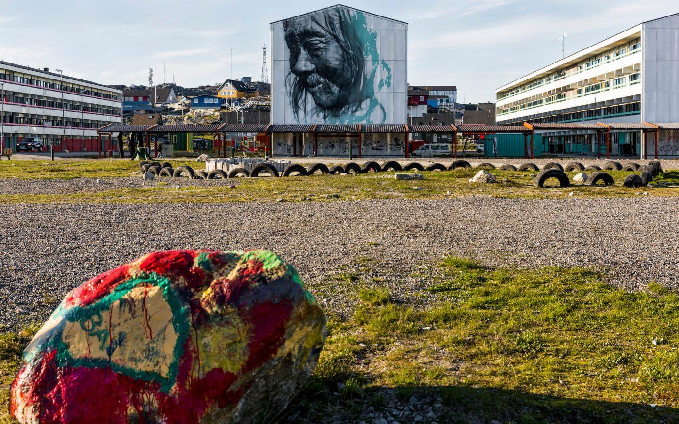 Colours and Art in Nuuk. By Daniel Gurrola